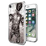"""Star Wars iPhone 7 Case, Onelee [Never fade] Star Wars, Han Solo, Death Star, Darth Vader Clear TPU Soft Rubber Case for regular iPhone 7 4.7"""" [Scratch proof] [Drop Protection]"""