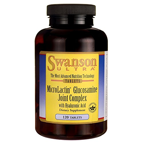 Ultra Joint Complex (Swanson Microlactin Glucosamine Joint Complex with Hyaluronic Acid 120 Tabs)