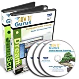 Adobe Dreamweaver CS5 Plus HTML Javascript CSS Tutorial Training on 3 DVDs 40 Hours in 427 Video Lessons Computer Software Video Tutorials