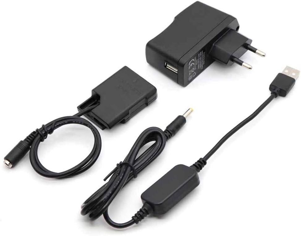 5V USB Línea De Conducción DC 8.4V + EP5A EP-5A EN-EL14 Batería Virtual + 5V3A USB Adaptador para Nikon P7800 P7100 D5600 D5300 D5200 D5100 D3400 D3300 D3200