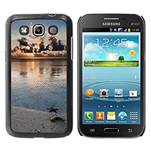 Paccase / SLIM PC / Aliminium Casa Carcasa Funda Case Cover - Nature Beach Star - Samsung Galaxy Win I8550 I8552 Grand Quattro