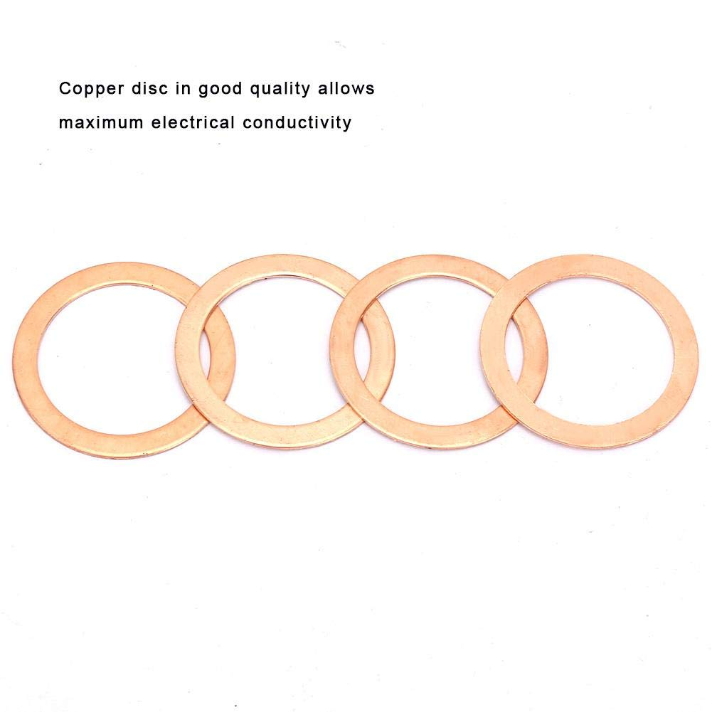 Estink Kupfer-Dichtung 568-teilig 30 Gr/ö/ßen Sortiment O-Ringe aus Metall O-Ring Kupfer f/ür Auto//Elektroanwendungen