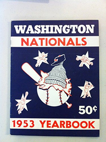 (1953 Senators Yearbook (50 pg) Excellent to Mint [Very sl cover wear, ow like new])