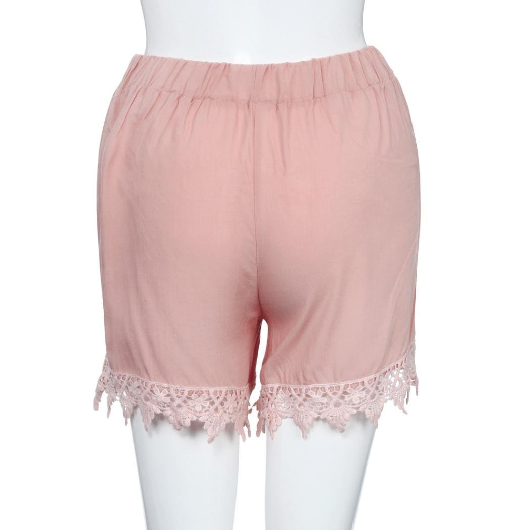 b21f73d0c61d PAOLIAN Pantalones Cortos Anchos para Mujer Verano 2018 Casual ...