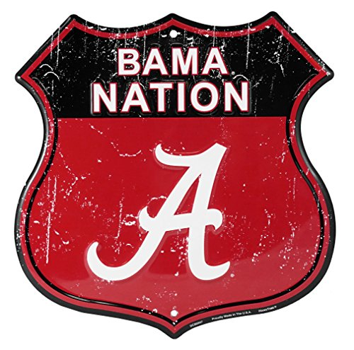 - Party Explosions University of Alabama Bama Nation Route Sign
