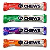 GU Energy Chews Variety Pack 1.9 Ounce Double Serving (18 packs)