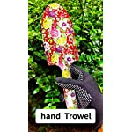 3 Piece Garden Tool Set – Aluminum Gardening Tools with Floral Print – Trowel, Cultivator, Pruning Shear, and Exquisite…