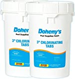 Doheny's 3 Inch Swimming Pool Chlorine Tablets (2) 50lb. Buckets