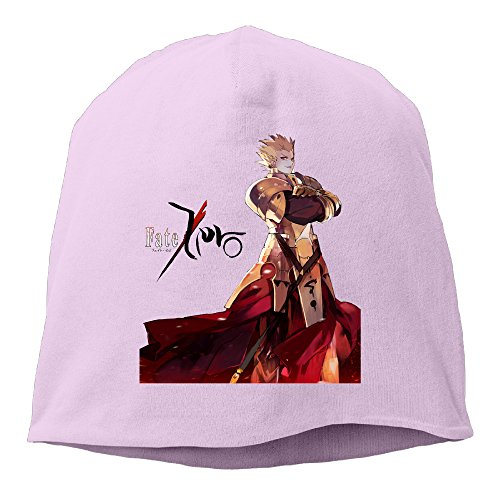 [Caromn Fate Zero Character Beanies Skull Ski Cap Hat Pink] (Dance Central Character Costumes)