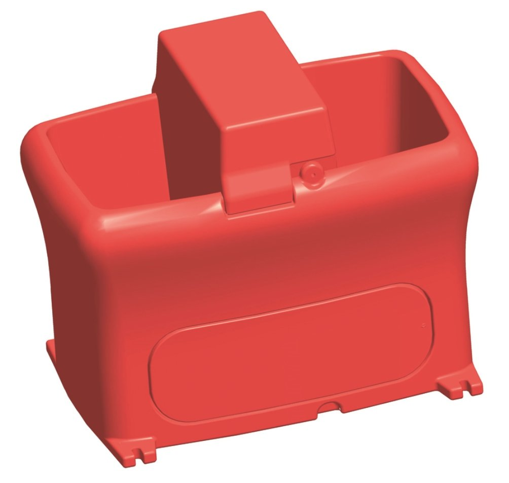 Brower MPO12E 12-Gallon Poly Electric Heated Waterer, Red