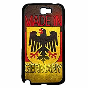 Made in Germany Plastic Phone Case Back Cover Samsung Galaxy Note II 2 N7100