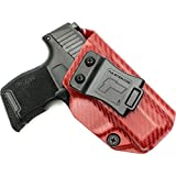 Tulster Sig P365 Holster IWB Profile Holster (Blood Red Carbon Fiber - Right Hand)