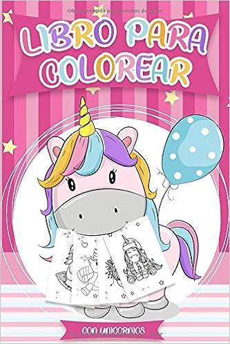 diseños hermosos de Unicornios para Colorear