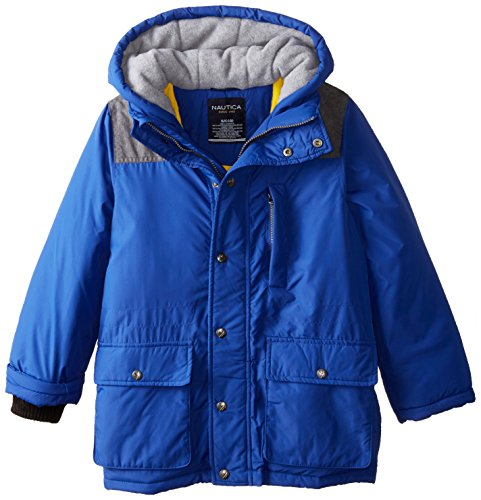 with Boys' Coat Ocean Cuffs Nautica Snorkle Storm Blue qvgz6O
