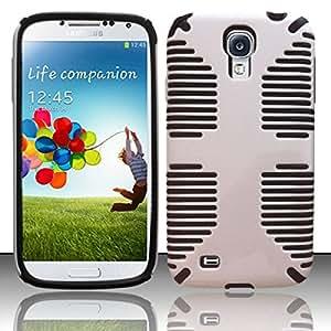 For Samsung Galaxy S4 i9500 - PC+SC HYBRID 1 Cover - Black HYB1