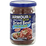 Armour Sliced Dried Beef, 2.25 Ounce (Pack of 12)