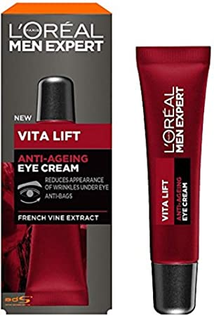 L 'Oreal Men Expert Vita Lift Antienvejecimiento Crema de ojos, 15ml