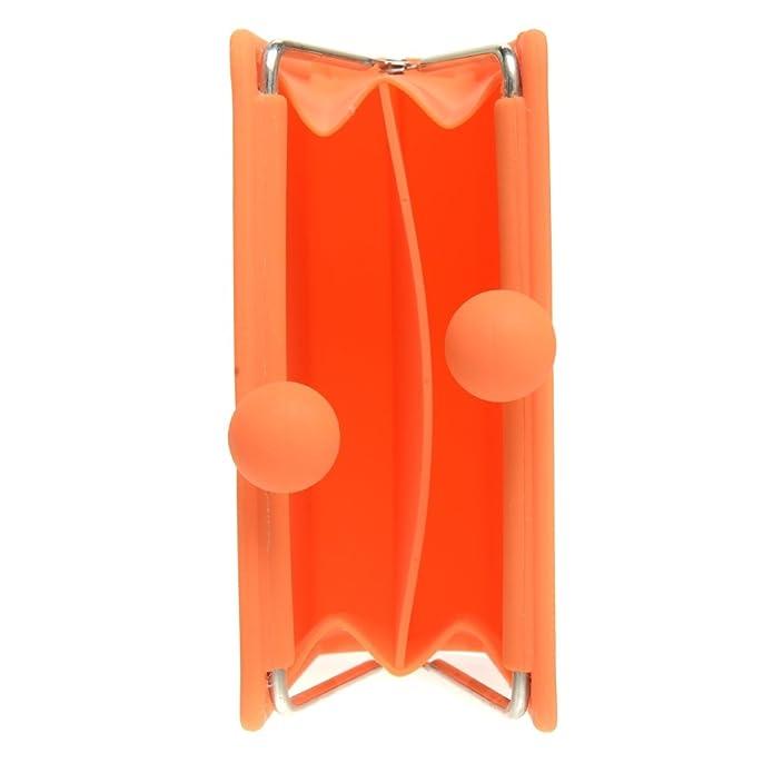 Amazon.com: P + G Naranja/Monedero Organizador de silicona ...