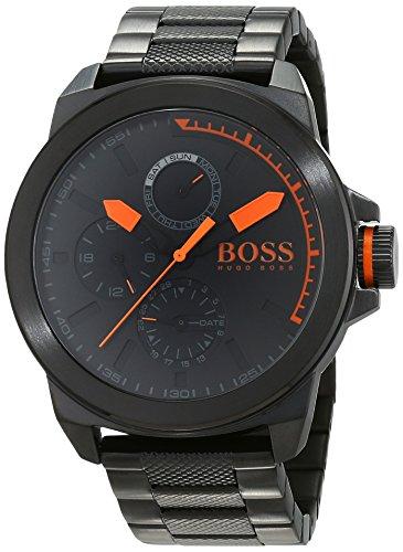 Hugo Boss Orange New York Men's Quartz multi dial Black Stainless Steel Bracelet 1513157