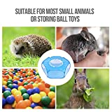 RUCKO Small Animal Playpen, Portable Transparent