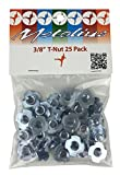 METOLIUS T-Nuts, 25-Pack One Color One Size