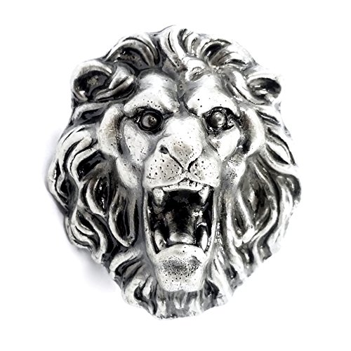 LBFEEL Animal Lion Cabinet Knobs Dresser Drawer Knobs Pull Handles ()