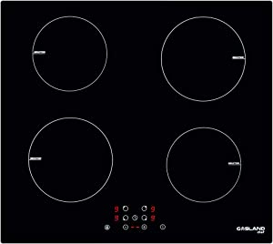 """GASLAND Chef 24"""" Induction Cooktop, 240V Built-in Electric Induction Cooker, 24 Inch 4 Burner Electric Induction Stove Top, Drop-in Sensor Control Induction Hob with Child Safety Lock and Timer"""