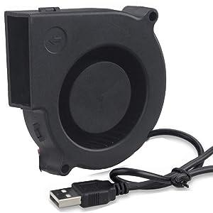 GDSTIME 7530 75mm x 75mm x 30mm 5V USB Blower Brushless Cooling Fan