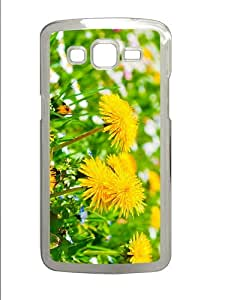 case the best cases dandelions PC Transparent case/cover for Samsung Galaxy Grand 2/7106