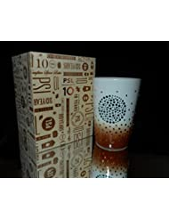 2013 Starbucks Swarovski Pumpkin Spice Latte PSL 10th Anniversary Mug Limited Edition Of 600