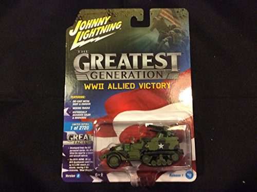 Johnny Lightning Greatest Generation WWII Allied Victory Ver A M16 Half Track