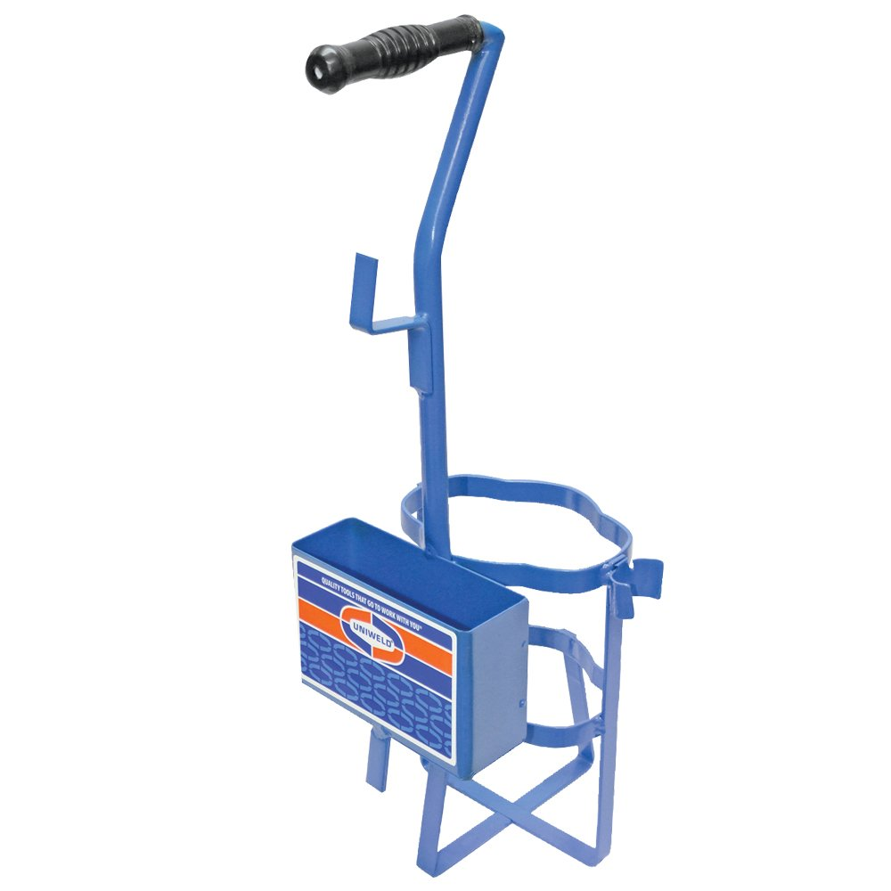 Uniweld 512 Metal Carrying Stand for 2 Disposable Fuel Cylinders or 1 MC Tank