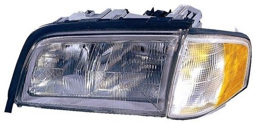 Left Driver for 2015-2017 Hyundai Sonata Front Headlight Assembly Housing // Lens // Cover Side 92101-C2000 HY2502183 Replacement 2016 Go-Parts