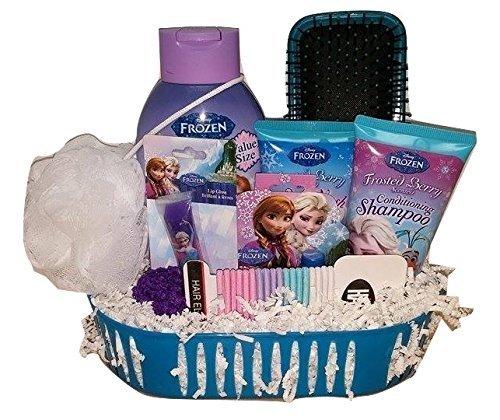 Disney Frozen Children's Bath & Body Gift Set 9 piece Bubble Bath, Shampoo, Body wash and more ()