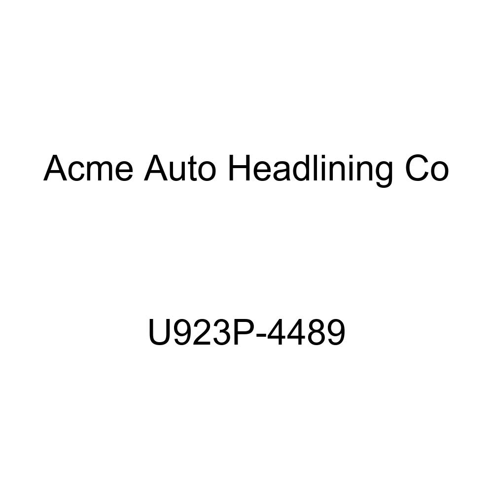 Acme U923P-4489 Front and Rear Navy Blue Vinyl Bench Seat Upholstery