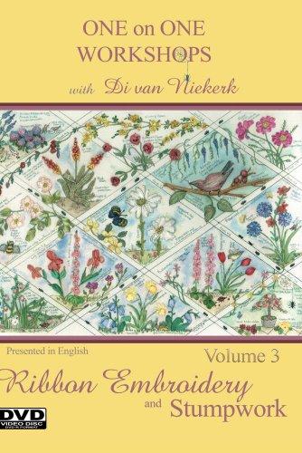 (One on One Workshops in Ribbon Embroidery and Stumpwork with Di van Niekerk Volume)