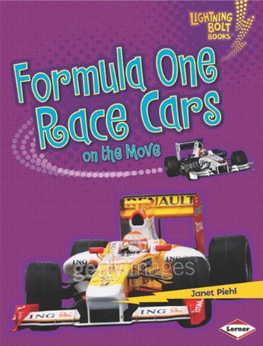 Formula One Race Cars on the Move (Lightning Bolt Books) (Bolt Formula)
