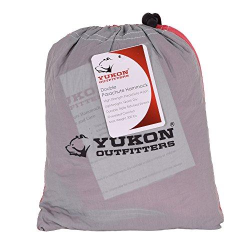 Yukon Outdoors MG10502 2 Nylon Parachute DBL Hammock by Yukon Outfitters