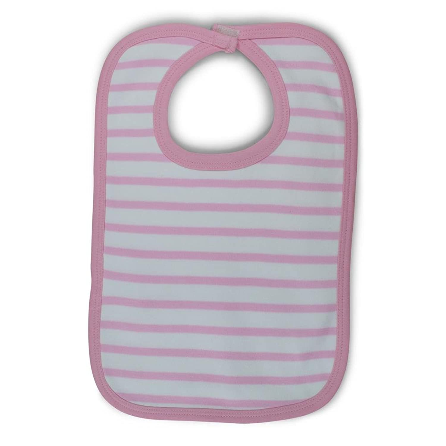 hot sell Infant Stripe Knit Bib save more