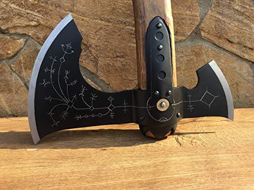Hand Forged Leviathan Axe Viking Axe God Of War Kratos