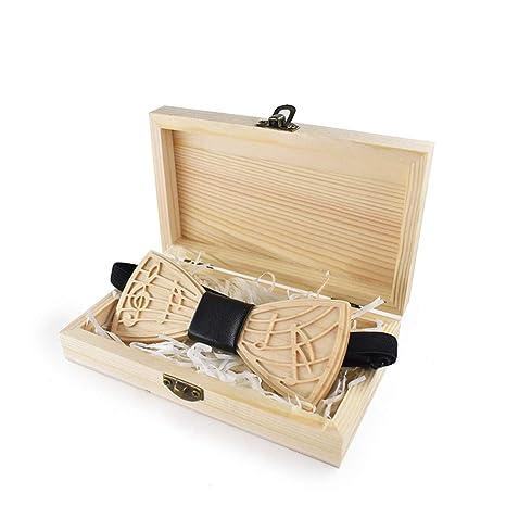 La corbata de madera de la boda se puede ajustar Ondas ...