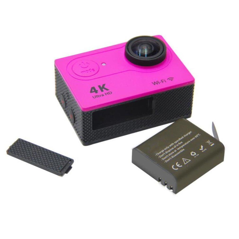 Sport Kamera Bildsensor Wasserdicht Ultra HD Portable Mini Video Recorder - Lila
