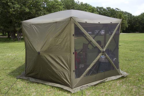 Quick Set Escape XL Wind Panels, Tear-Resistant Durable Side Panels Fire-Retardant (3 Pack), Brown