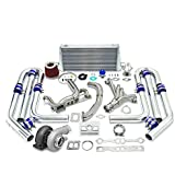 amazon com  cxracing twin single turbo header small block