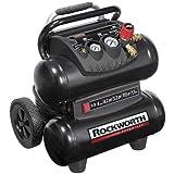 Rockworth 1.5HP 4 Gallon Portable Electric Twin-Stack Air Compressor | RW1504ST2