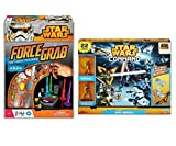 2 Pack Star Wars Bundle Force Grab Game Fast Reaction Game and Command Epic Assault Set