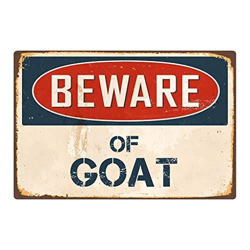 Weiliru Beware of The Dog Logo Iron Sign