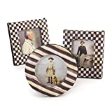 MacKenzie-Childs Courtly Check Photo Frames - Set of 3