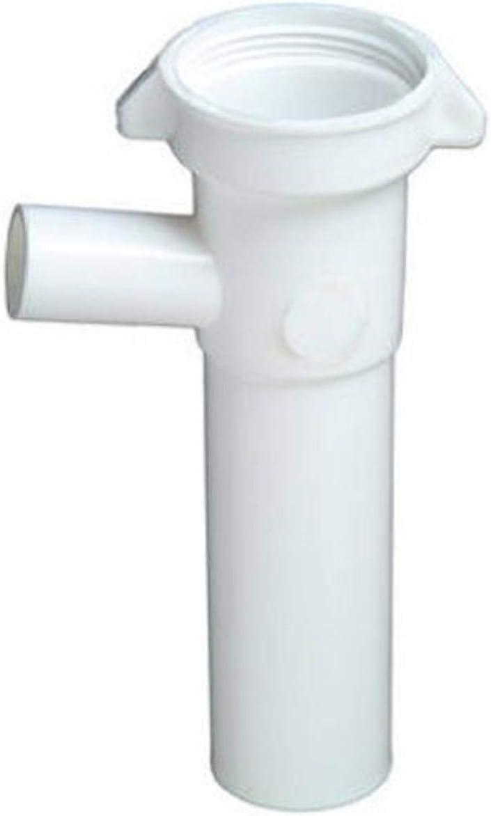 Master Plumber 829-025 MP Dish Tailpiece, White