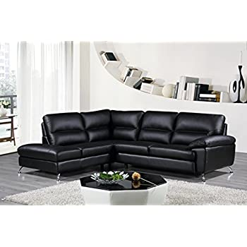 Amazon Cortesi Home Contemporary Boston Genuine Leather